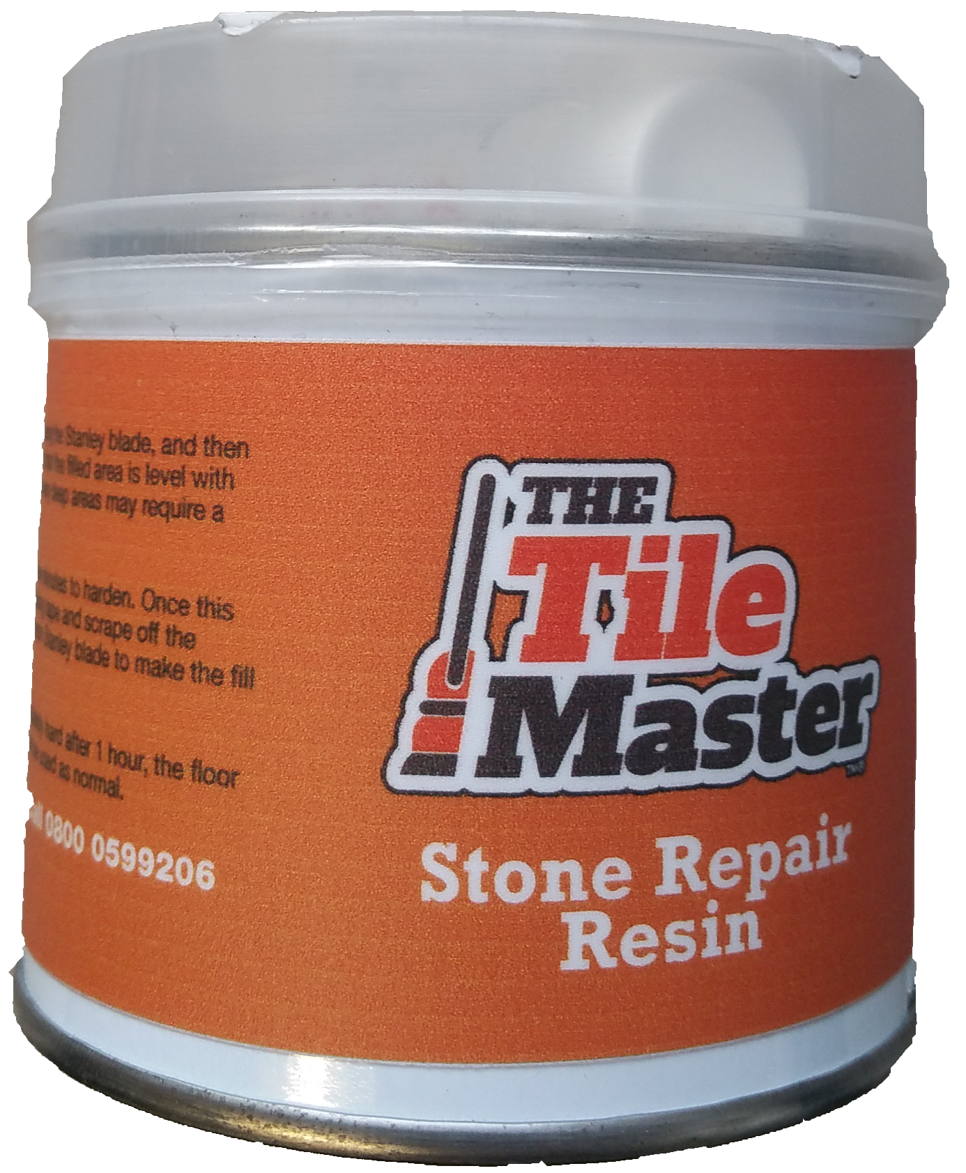 Stone repair resin filler cream with hardner the tile master for Marble filler repair