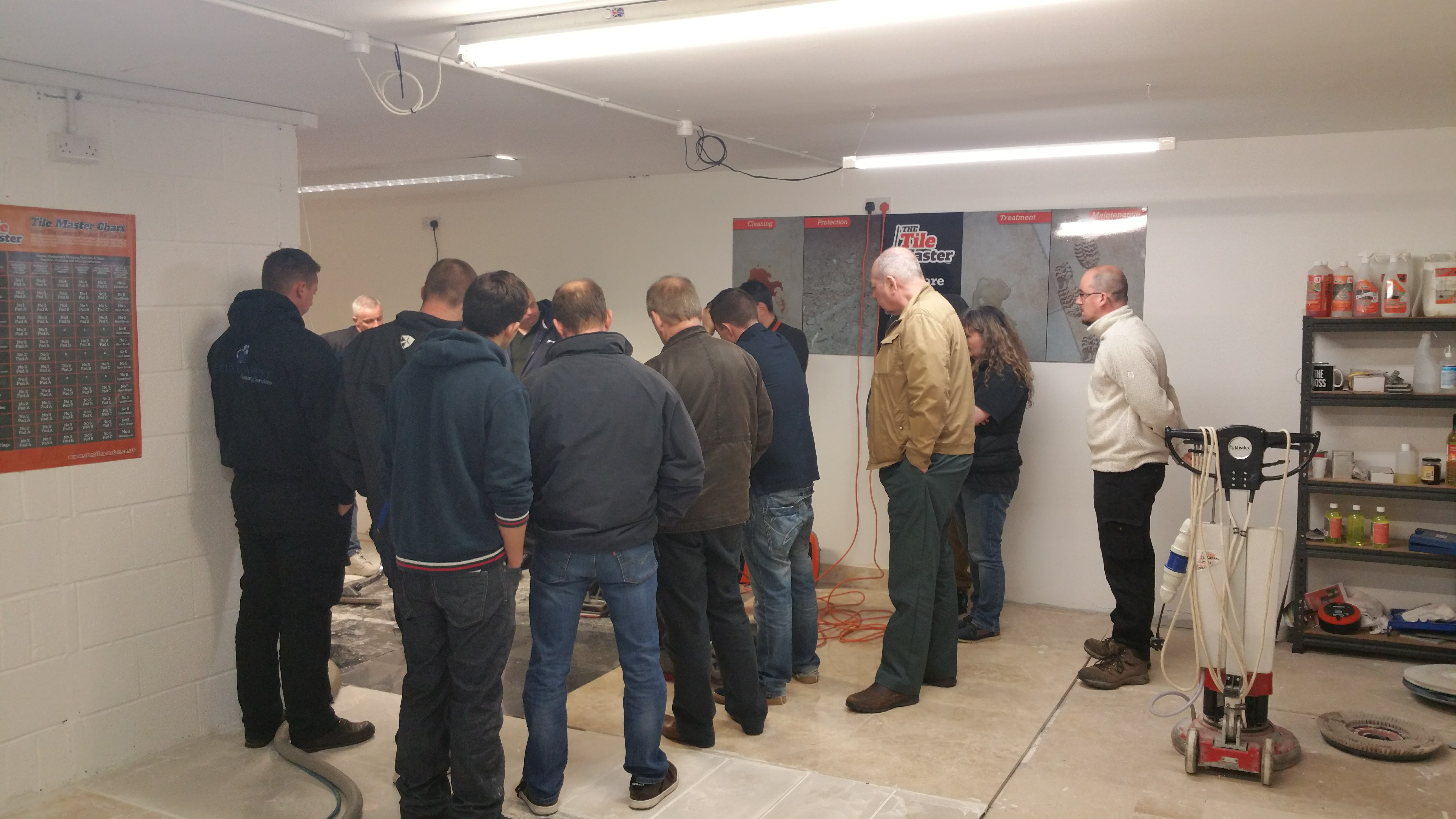 2 Day Hard Floor Training Course Add Tile Cleaning To