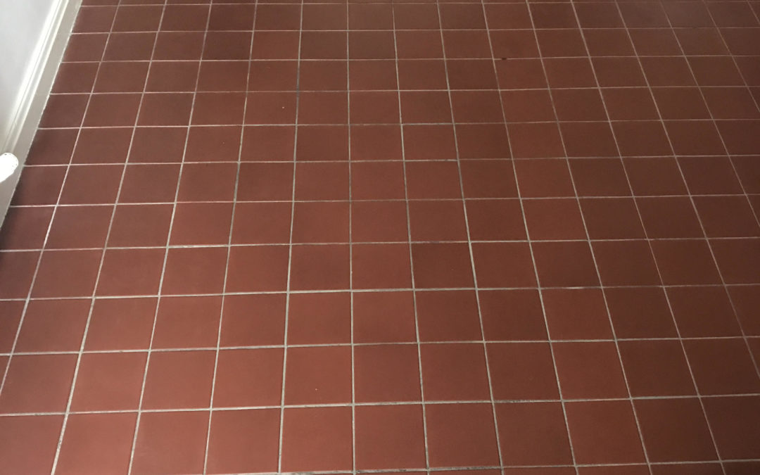 How to Clean and Seal Quarry tiles in Wigan