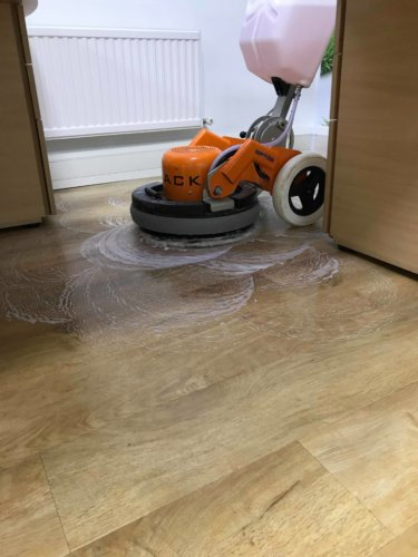 lvt cleaning with tilemaster system