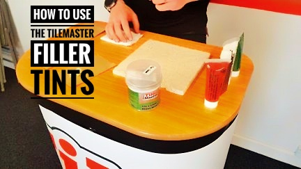 Pro's Tip – How to use the TileMaster filler tints